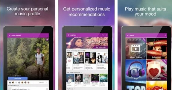 أفضل تطبيقات تحميل وسماع الموسيقى للاندرويد 4