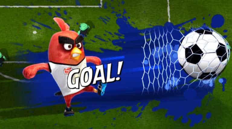 شرح Angry Birds Goal وتحميلها مجانا