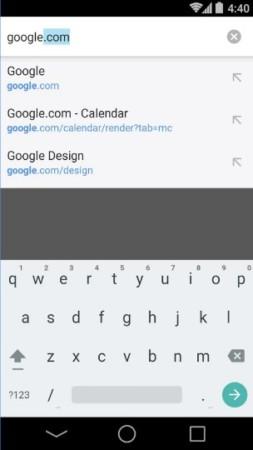 تحميل جوجل كروم 2018 Google Chrome لهواتف الاندرويد وشرحه بالصور