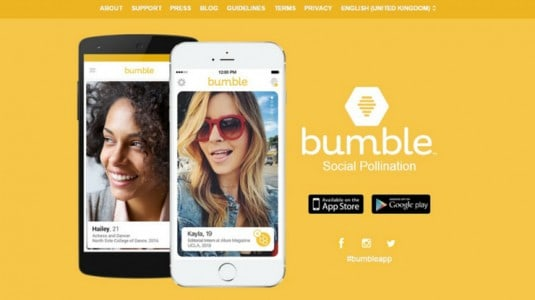 برنامج Bumble للتعارف