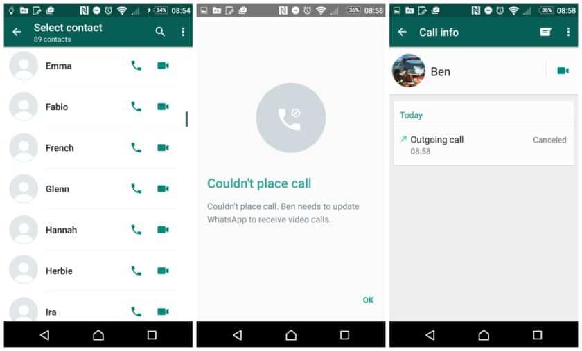 كيفية تشغيل مكالمات الفيديو من خلال تطبيق WhatsApp