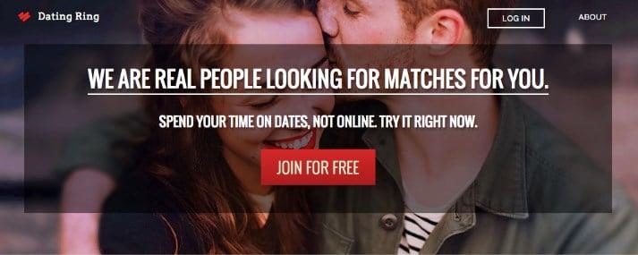موقع التعارف The Dating Ring