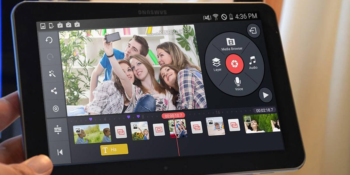 Video Editor تطبيق التعديل علي فيديوهات الاندرويد