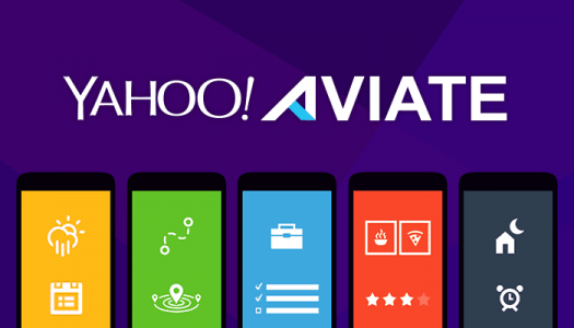 برنامج تغيير شكل الهاتف بتطبيق Yahoo Aviate