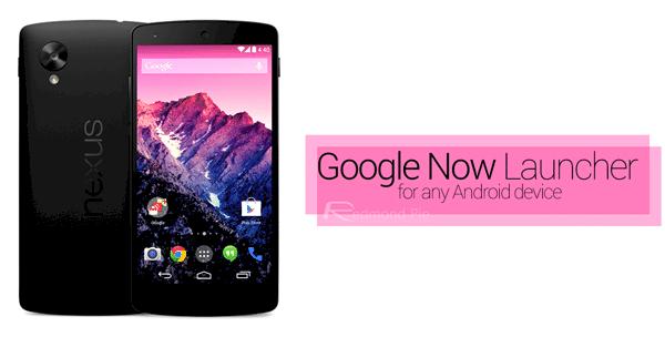 برنامج تغيير شكل الهاتف Google Now