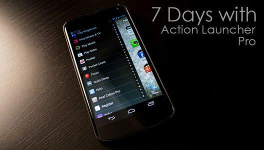 تغيير شكل الهاتف من خلال Action Launcher