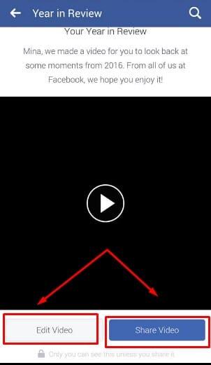 عمل Yearinreview2016 علي الفيسبوك مجانا