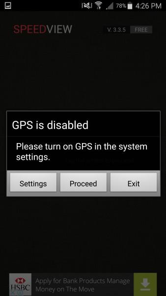 تطبيق تحويل الهاتف لعداد سرعة