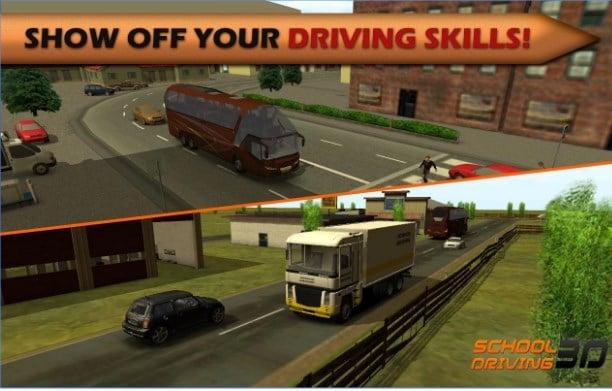 تحميل لعبه تعليم القياده 3d driving school
