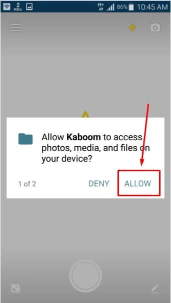 Kaboom - Self-destructing Post تطبيق للحفاظ على ملفاتك الشخصية