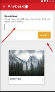 تطبيق AnyDesk remote PC Mac control