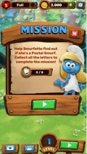 لعبة smurfs bubble story