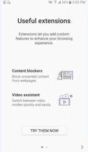 تحميل Samsung Internet Beta