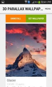 تطبيق 3D Parallax Wallpaper