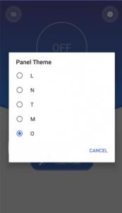 تطبيق Material Status Bar