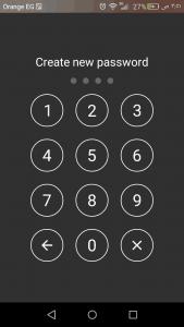 تنزيل Gesture lock screen