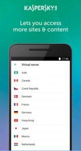 تنزيل Kaspersky VPN service