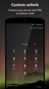 تطبيق Next Lock Screen