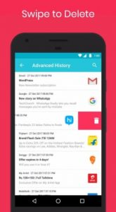 تطبيق Notification History