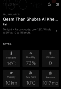 Today weather 2018