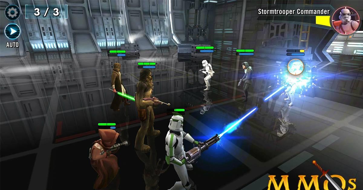 تحميل لعبة Star Wars Galaxy of Heroes