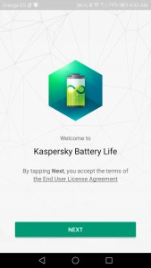 تحميل Kaspersky Battery Life