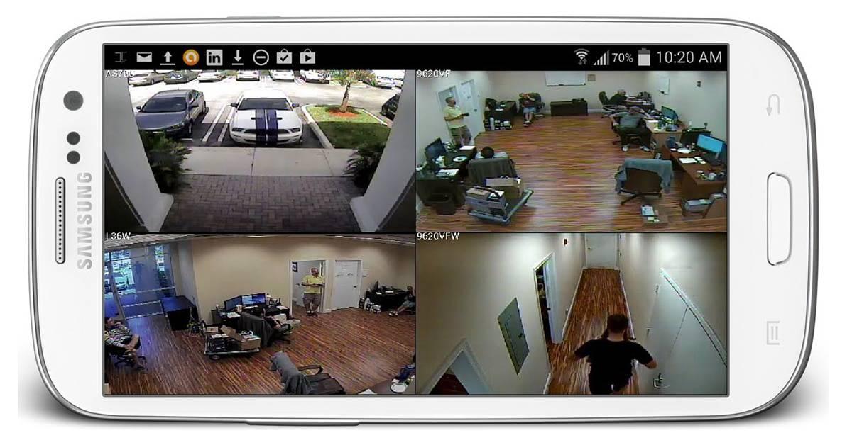 تطبيقات تحويل هاتفك إلي كاميرا مراقبة