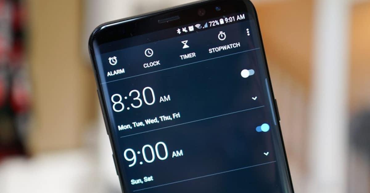 تطبيق Clock من جوجل يعتبر أفضل تطبيق ساعة ومنبه لهواتف الاندرويد