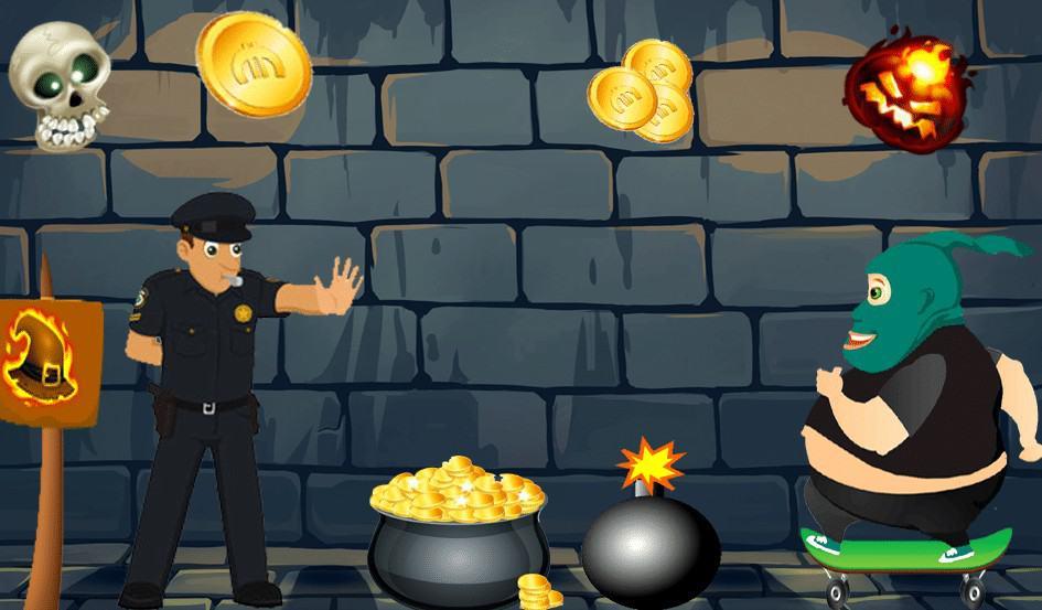 تطبيق لعبة Robber Bank Bop Mafia