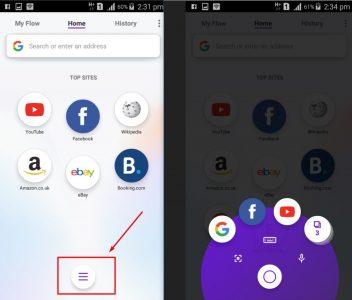 تحميل تطبيق Opera Touch 2018