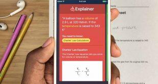 شرح تطبيق Socratic لحل المسائل والمعادلات الرياضية عن طريق الكاميرا