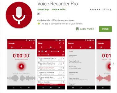 تطبيقات تسجيل صوت رائعة