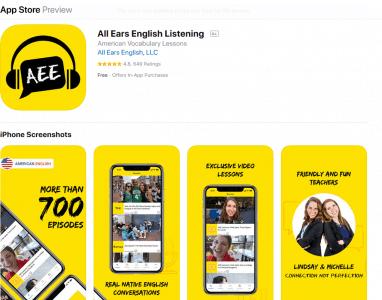 تطبيق All Ears English Listening