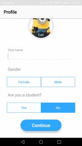 تطبيق تعلم لغات جديدة