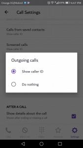 كيفية معرفة هوية المتصل وحظر المكالمات