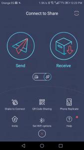 تطبيق مشاركة الملفات