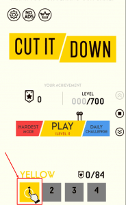 معلومات عن لعبة Cut it