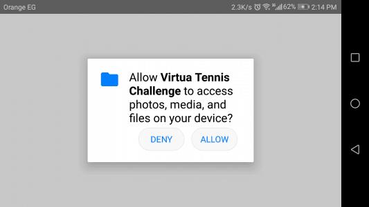 تحميل لعبه virtual tennis للاندرويد