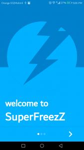 تطبيق SuperFreezZ متخصص في إغلاق التطبيقات التي تعمل في الخلفية