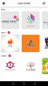 طريقة تحميل واستخدام تطبيق Logo Maker