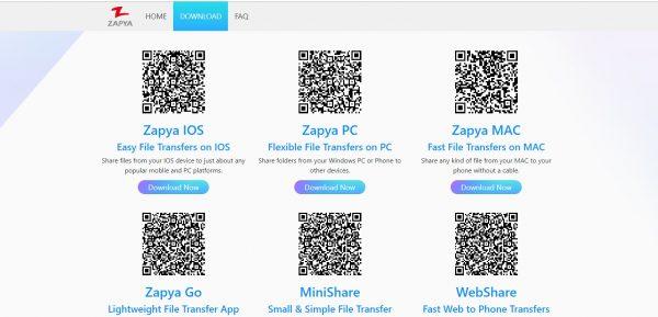 تحميل تطبيق Zapya IOS للايفون والاندرويد