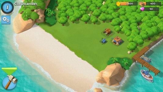 boom beach للكمبيوتر