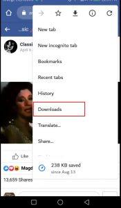 تحميل الفيديو من الفيس بوك مجانا بدون برامج