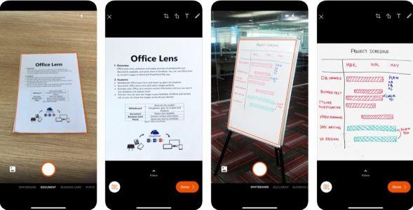 تطبيق الماسح الضوئي لشركة مايكروسوفت