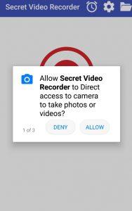 تطبيق تصوير الفيديو