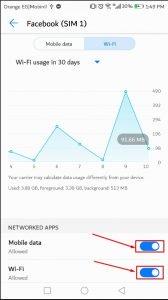 كيفية منع التطبيقات من استخدام بيانات الهاتف في الاندرويد