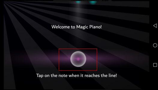 تطبيق Magic Piano لتحويل الهاتف إلي بيانو للعزف عليه