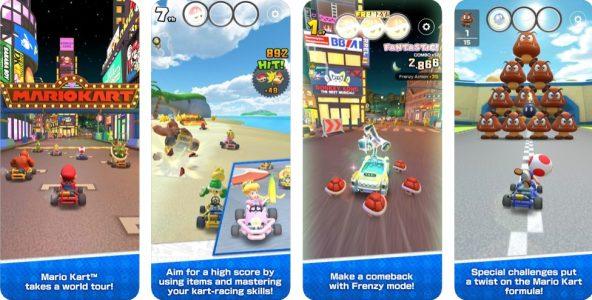 شرح وتنزيل لعبة Mario Kart Tour ماريو كارت الجديدة والايفون