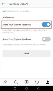 طريقة نشر الاستوري على فيس بوك وانستقرام بشكل تلقائي