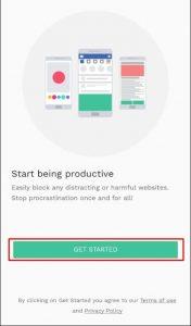 تطبيق BlockSite لعمل بلوك للمواقع المحظورة